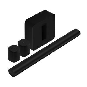 Комплект акустики 5.1 Sonos Sub, Arc, 2 One Black