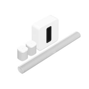 Комплект акустики 5.1 Sonos Sub, Arc, 2 One SL White