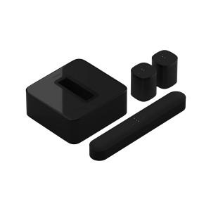 Комплект акустики 5.1 Sonos Sub, Beam, 2 One Black